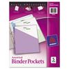 Binder Accessories Binder Dividers: Avery® Binder Pockets