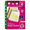 Binder Accessories Binder Dividers: Avery® Small Binder Pockets