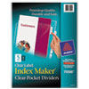 Avery Avery® Index Maker® Pocket Label Dividers AVE 75500