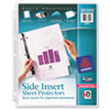 Avery Avery® Diamond Clear Side Insert Sheet Protectors AVE 76001