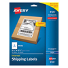 Avery Avery® Shipping Labels with TrueBlock™ Technology AVE 8126