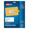 Labels, Stamps, Index Dividers: Avery® Shipping Labels with TrueBlock™ Technology