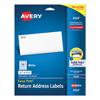 Avery Avery® Easy Peel® Return Address Labels AVE 8167