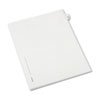 Avery Avery® Collated Legal Dividers Allstate® Style Side Tab AVE 82221