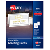 Avery Avery® Half-Fold Greeting Cards with Envelopes AVE 8316