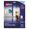 Avery Avery® Inkjet Magnetic Business Cards AVE 8374