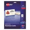 Avery Avery® Business Cards AVE 8376