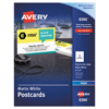 Avery Avery® Print-to-Edge Postcards AVE 8386