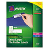 Avery Avery® Extra-Large File Folder Labels with TrueBlock® Technology AVE 8425