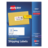 Avery Avery® Shipping Labels with TrueBlock™ Technology AVE 8463