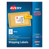 Avery Avery® Shipping Labels with TrueBlock™ Technology AVE 8464