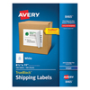 Avery Avery® Shipping Labels with TrueBlock™ Technology AVE 8465