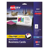 Avery Avery® Clean Edge® Printable Business Cards AVE 8869