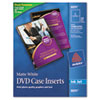 Avery Avery® DVD Jewel Case Inserts AVE 8891