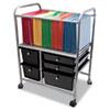 Advantus Advantus® Letter/Legal File Cart with Five Storage Drawers AVT 34100