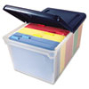 Innovative Storage Designs Innovative Storage Designs File Tote with Lid AVT 55797