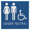 Advantus Advantus Gender Neutral ADA Signs AVT 97079