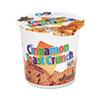 General Mills Cinnamon Toast Crunch Cereal, Single-Serve 2oz Cup, Six per Box