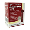 Lancets: Pharma Supply - Advocate® 30-Gauge Twist-Top Lancets, 100EA/BX