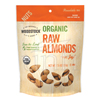 Woodstock Farms Organic Raw Almonds BFG 06748