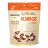Popcorn Pretzels Nuts Almonds: Woodstock Farms - Roasted & Salted Almonds