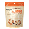 Popcorn Pretzels Nuts Almonds: Woodstock Farms - Roasted & Unsalted Almonds
