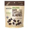 organic snacks: Woodstock Farms - Dark Chocolate Almonds