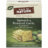 Back To Nature Spinach & Roasted Garlic Crackers BFG 89618