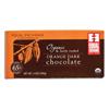 Equal Exchange Dark Chocolate With Orange Bar (65% Cacao) BFG 20041