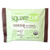 Squarebar Cocoa Crunch Organic Protein Bar BFG 27981