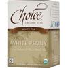 Clean and Green: Choice Organic Teas - Fair Trade White Peony Tea