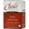 Choice Organic Teas Twig Kukicha Tea BFG 28145