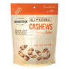 organic snacks: Woodstock Farms - Large Whole Cashews, Roasted & Salted