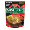 quick meals: Edward & Sons - Miso-Cup® Japanese Restaurant Style Soup