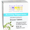 Shower Bathing Body Wash: Aura Cacia - Reviving Peppermint Shower Tablets