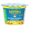 Quick Meal Meals: Annie's Homegrown - Rice Pasta & Cheddar Mac n Cheese