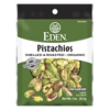 Eden Foods Pocket Snacks Pistachios, Shelled and Dry Roasted BFG 68925