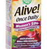 Vitamins OTC Meds Multi Vitamin: Nature's Way - Alive! Womens 50+ Multi Vitamin