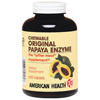 American Health Original Papaya Enzyme Chewable - 600 Tablets BFG 84923