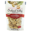 organic snacks: Orchard Valley Harvest - Cashews, Halves & Pieces