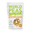 organic snacks: World Peas - Texas Barbeque Fava Crisps