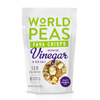 organic snacks: World Peas - Vinegar & Sea Salt Fava Crisps