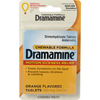 Vitamins OTC Meds Travel Sickness: Convenience Valet - Dramamine Chewable Tablets