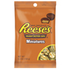 candy: Hershey Foods - Reese's Peanut Butter Cup Mini's Peg Pack