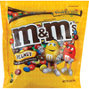 Milk Chocolate Milk: M & M Mars - M&M's Peanut 42 oz Bag Bulk