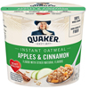 Quaker Oats Express Oatmeal, Apple Cinnamon, 24/CS BFV QUA31973