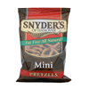 chips & crackers: Snyder's - Large Single Serve Fat-Free Mini Pretzels