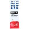 Dot Foods Thats It Apple Blueberry Bar 1.2 oz., 24/BX BFV THN00414