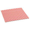 Packaging Dynamics Grease-Resistant Red Check Sheets BGC 057700