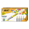 Bic BIC® Brite Liner® Flex Tip™ Highlighters BIC GBLB11YE